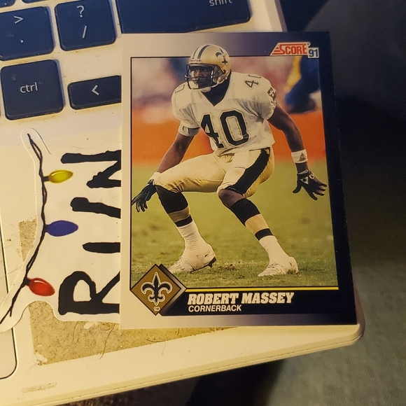 Other - Robert Massey football card